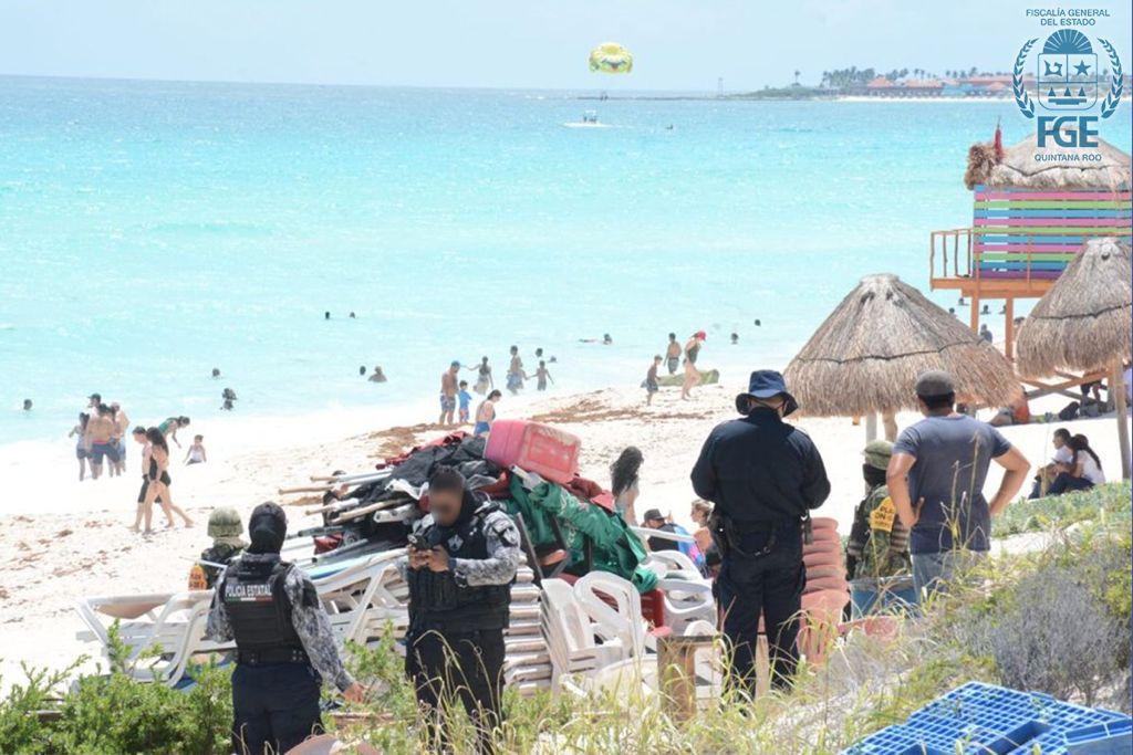 """SEDENA, SEMAR, GN y autoridades de Quintana Roo activaron el operativo """"Playa Segura"""" *FOTOS & VIDEO FGJ-QROO*"""