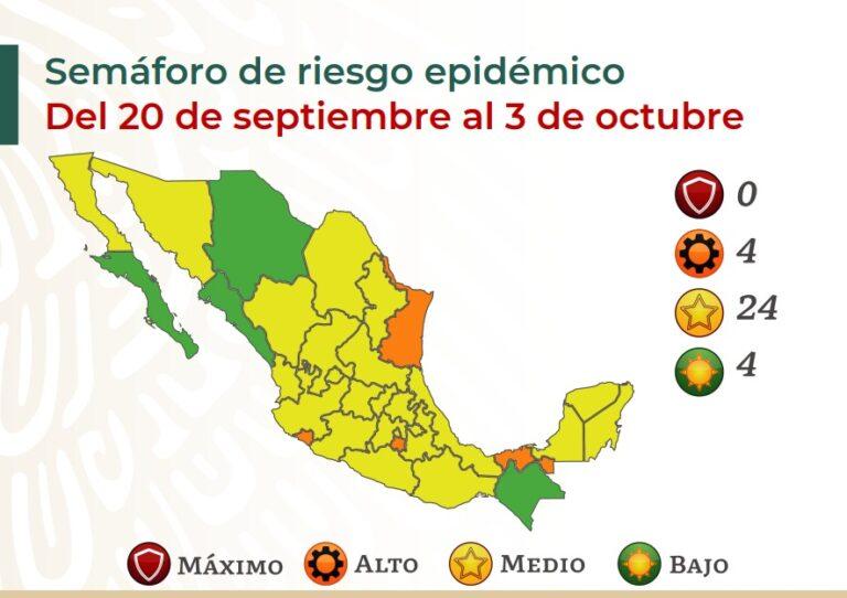 México suma 270 mil 538 muertos por covid-19 Foto: @SSalud_mx