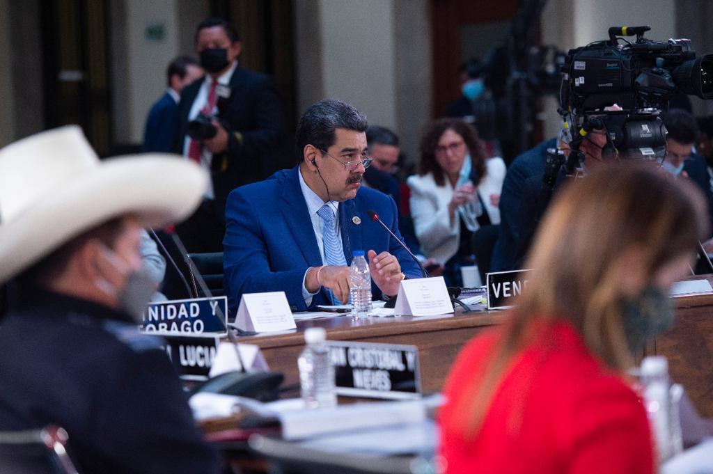 Nicolás Maduro retó a un debate sobre democracia Foto: Presidencia