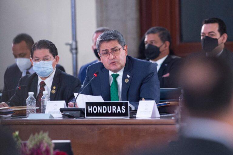 Honduras rechazó proteger a narcotraficantes Foto: Presidencia