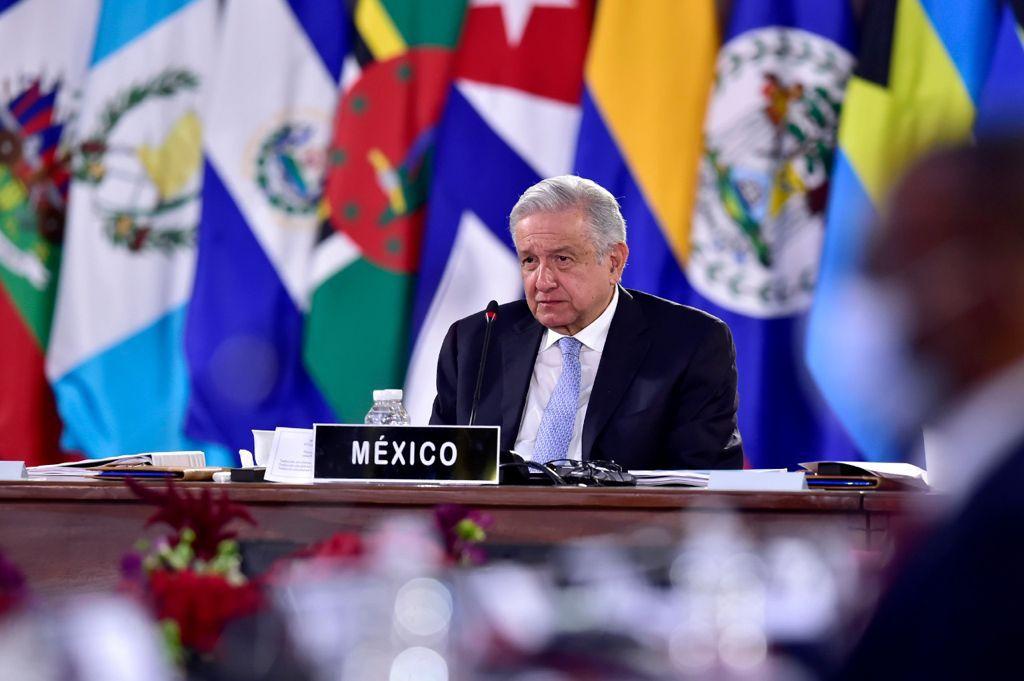 AMLO clausuró oficialmente los trabajos de la CELAC Foto: Presidencia
