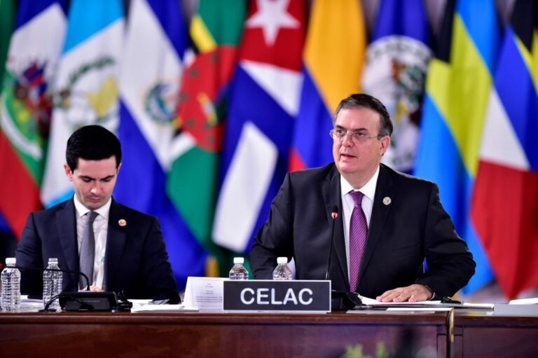 Éxito, Cumbre CELAC: Marcelo Ebrard Casaubon Foto: Presidencia
