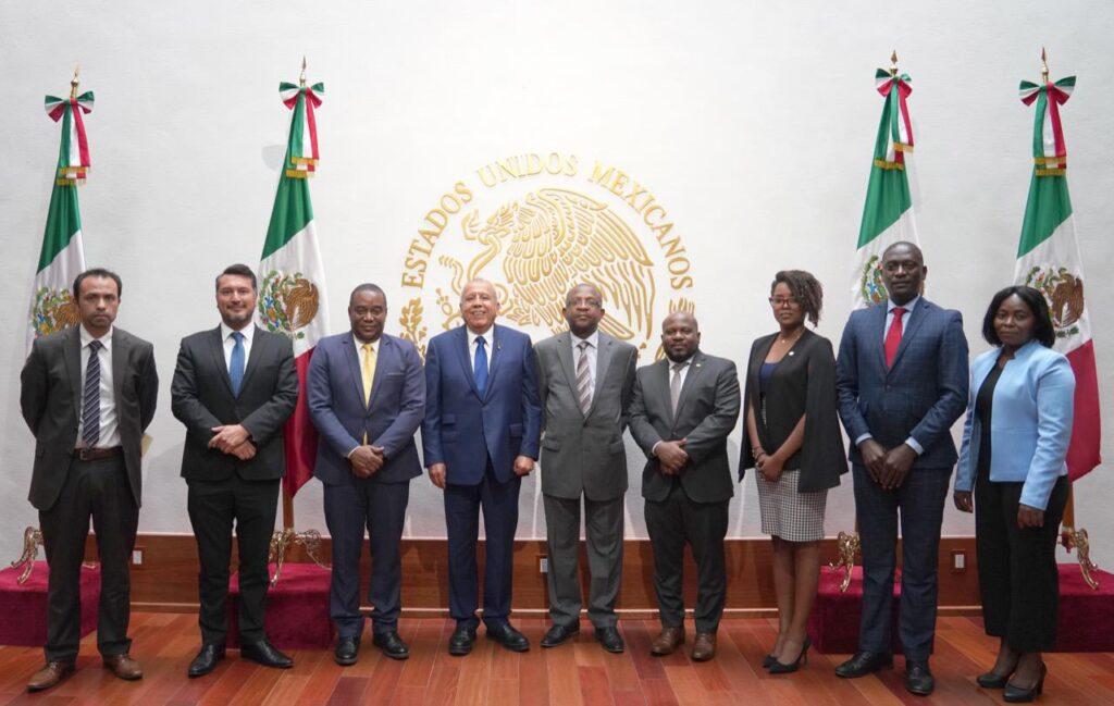 México y Haití establecen mesa de diálogo permanente para migración *FOTOS SEGOB / INM***