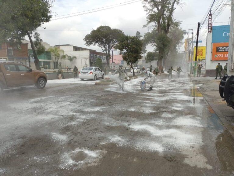 Guardia Nacional apoyó en el desalojo preventivos de familias en el municipio de Tula **FOTOS & VIDEO GN**