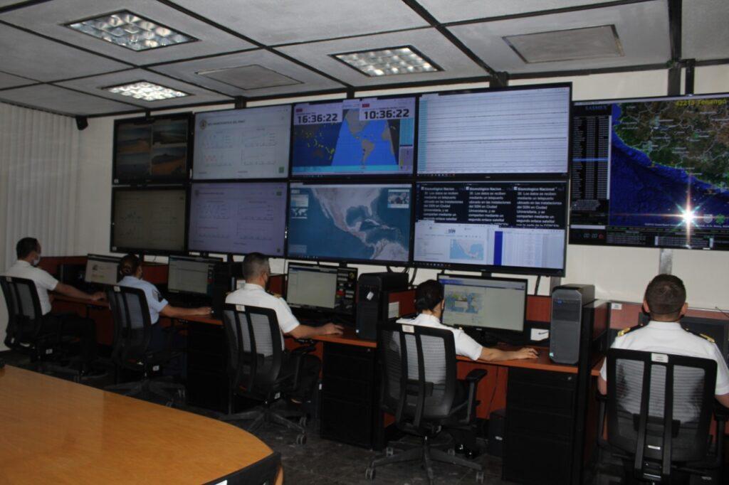 Centro de Alerta de Tsunamis cumple 10 años: SEMAR ***FOTOS SEMAR***