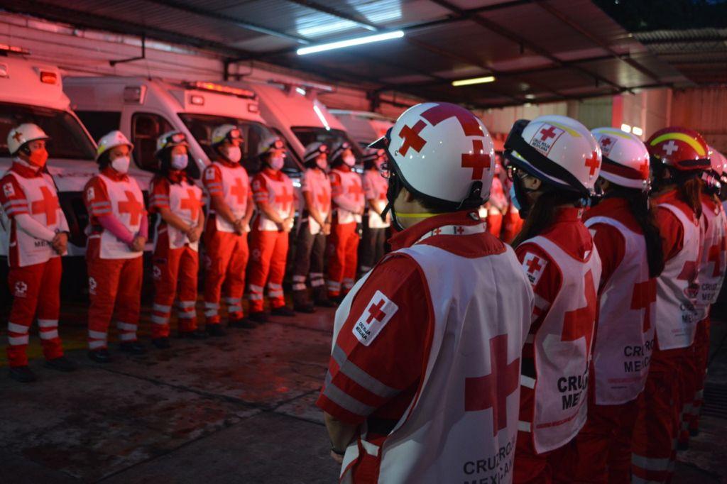 Cruz Roja Mexicana rinde homenaje a la memoria de los fallecidos por los sismos de 1985 y 2017 **FOTOS & VIDEO CRUZ ROJA MEXICANA**