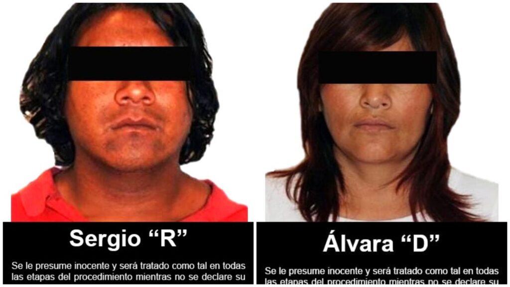 Juez federal sentenció a 25 y 31 años de prisión a dos personas por trata de personas, corrupción de menores y lenocinio ***FOTOS FGR***