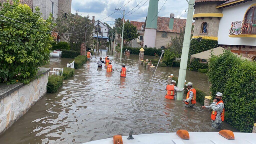 """Guardia Nacional aplica el """"Plan GN-A"""" en San Juan del Río y Tequisquiapan, Querétaro **FOTOS GN***"""