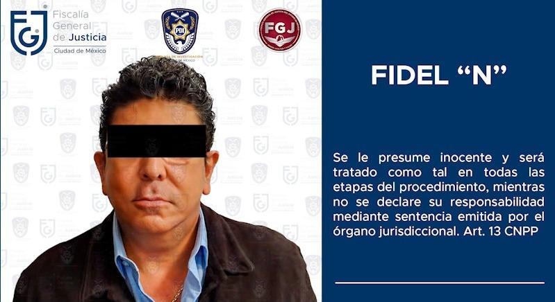 "FGJCDMX detuvo al empresario Fidel Kuri Grajales, ex propietario del equipo de futbol ""Tiburones Rojos"" **FOTOS & VIDEO FGJ-CDMX & FGJ-EM***"