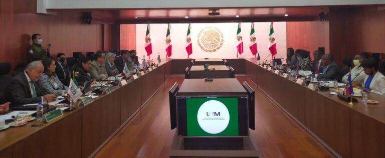México y Haití plantean acciones para migrantes del país caribeño: Segob-INM