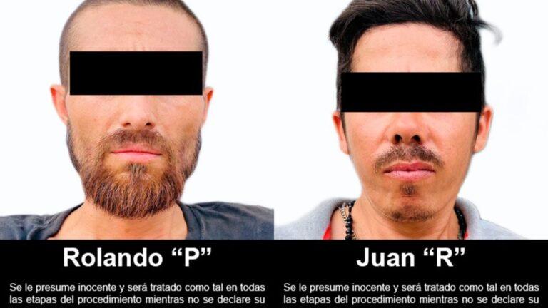 2 presuntos criminales fueron puestos a disposición del MPF por portación de armas de uso exclusivo ***FOTOS FGR / SEDENA***