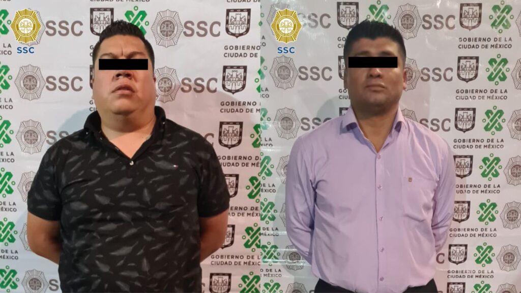 """SSC-CDMX detuvo a 2 integrantes de""""Los Dilers"""" dedicados a la venta y distribución de narcóticos **FOTOS SSC-CDMX***"""
