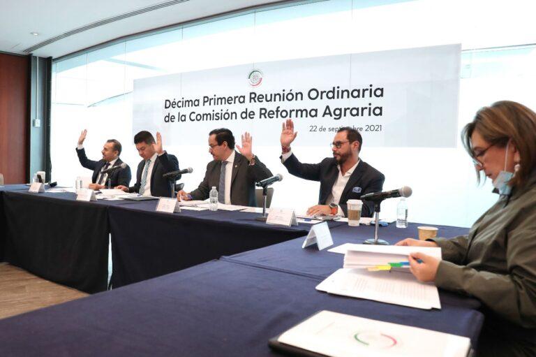 Avala comisión senatorial reconocer derechos de las mujeres como sujetos agrarios Foto: Internet