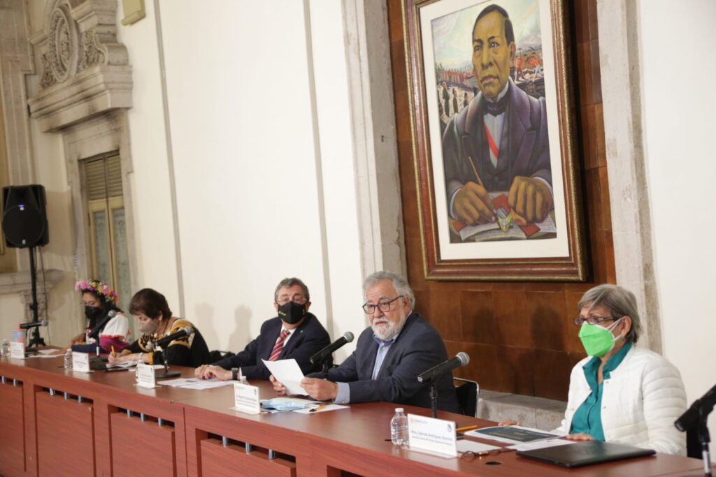 Alejandro Encinas advirtió que en México se va a dar un trato humanitario a migrantes **FOTOS SEGOB***