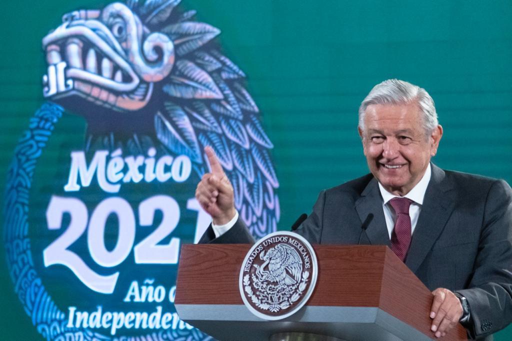 Se alista un acto nocturno por Bicentenario: AMLO Foto: Presidencia