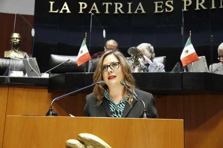 El Gobierno Federal muestra su afinidad con gobiernos dictatoriales: Gina Cruz Foto: Internet