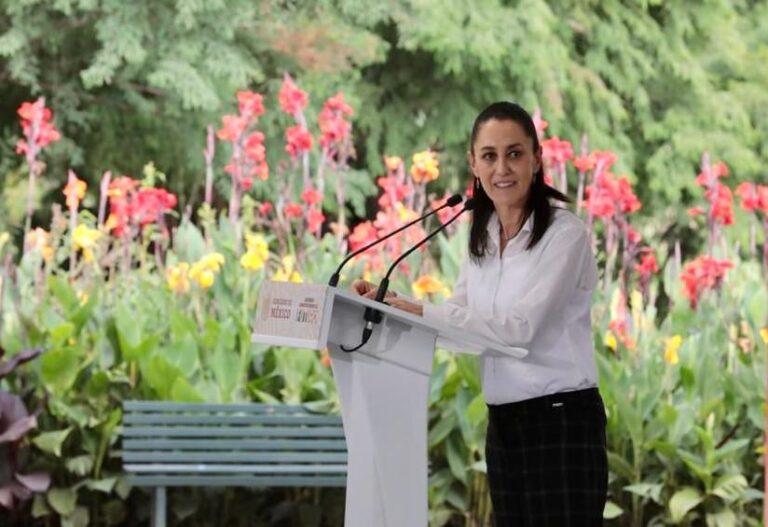 Claudia Sheinbaum agradeció respaldo de AMLO Foto: Presidencia