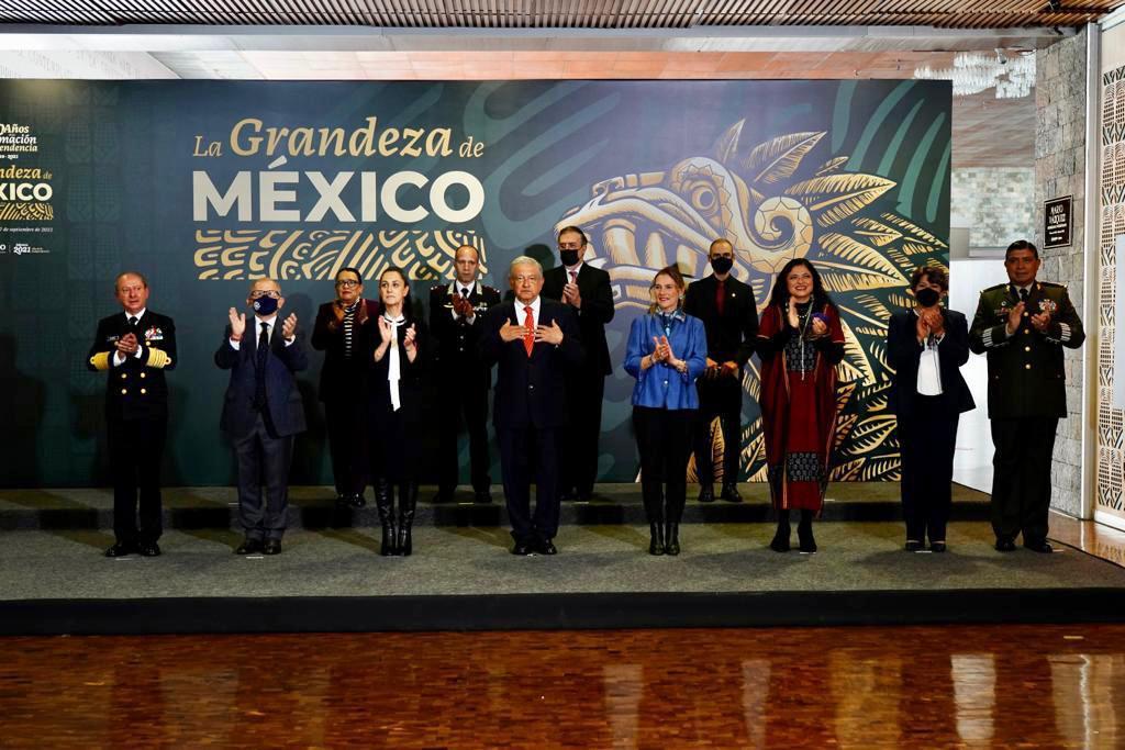 Guardia Nacional recuperó piezas históricas y arqueológicas: AMLO Foto: Presidencia