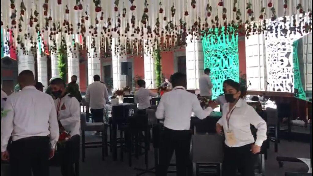 Alistan verbena en Palacio Nacional por los 200 años de la consumación de la Independencia Foto: Especial