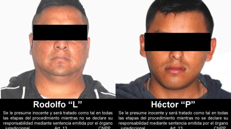 Juez dictó sentencia condenatoria de 52 y 68 años de prisión en contra de dos secuestradores ***FOTOS FGR*****