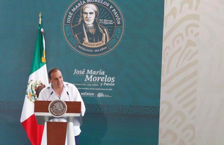 En Morelos no pactamos: Cuauhtémoc Blanco Foto: Presidencia