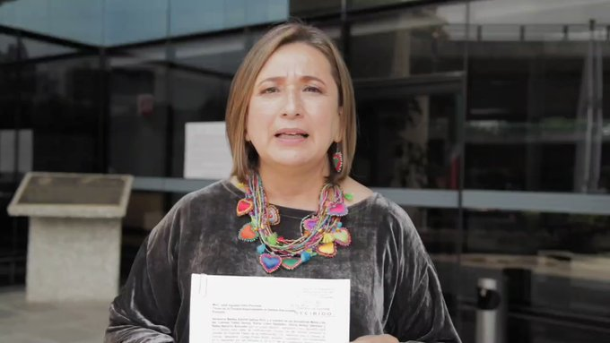 Xóchitl Gálvez denunció a Delfina Gómez por pedir salarios de trabajadores en Texcoco