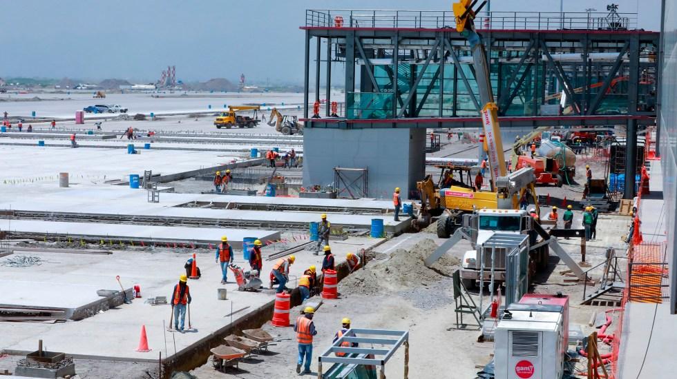 5 trabajadores fallecidos en AIFA Foto de EFE/ Carlos Ramírez