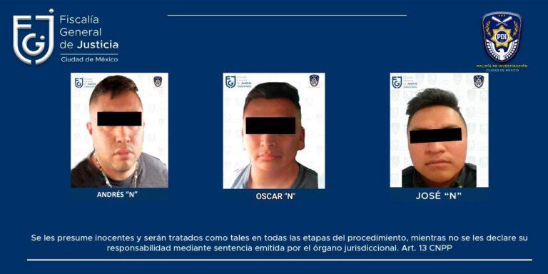 Fiscalía CDMX detuvo a 3 policías ligados a desaparición y muerte de José Alberto Serna Rojas