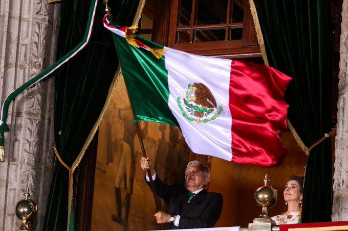 """Ceremonia del Grito sin """"manifestación abierta"""": AMLO"""