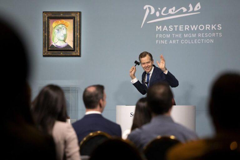 Subastan 11 obras de Picasso por 109 mdd en Las Vegas