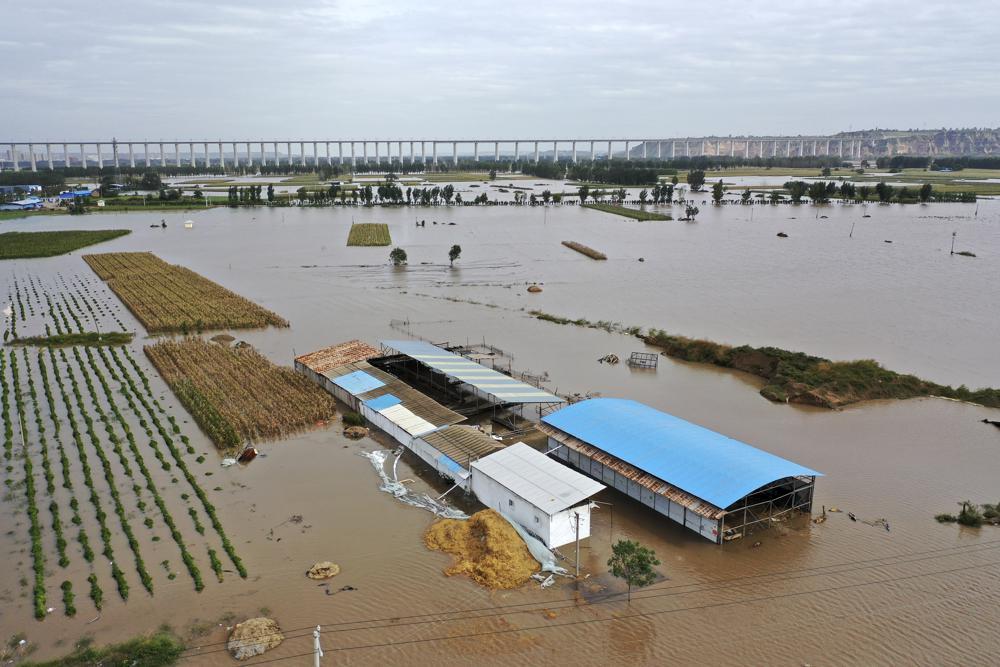Al menos 29 muertos por inundaciones en el norte de China