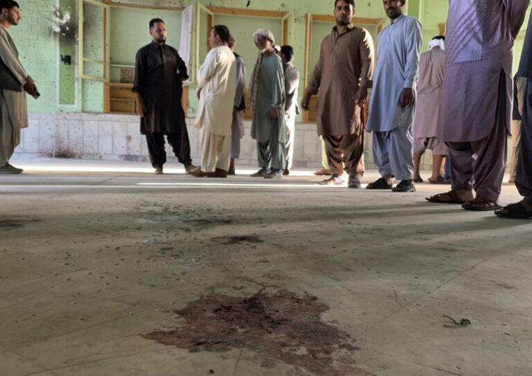 Ataque suicida a mezquita chií de Afganistán deja 47 muertos Foto: AP