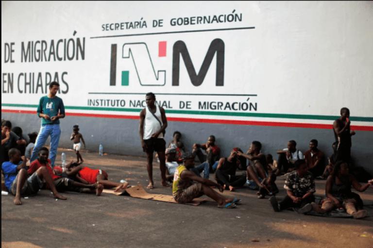 """CNDH y Mecanismos Nacionales de Prevención de la Tortura"""" de Guatemala y Honduras visitan la estación migratoria """"Siglo XXI"""" Foto: Internet"""
