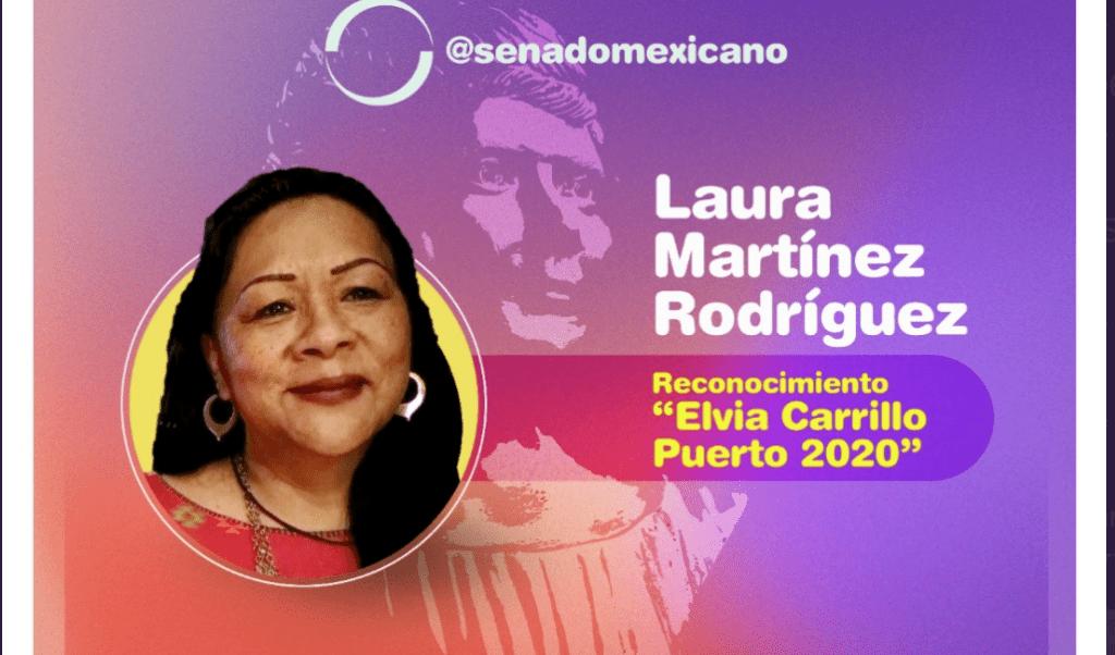 Se impone Morena para galardonar a dos de sus militantes Foto: @senadomexicano