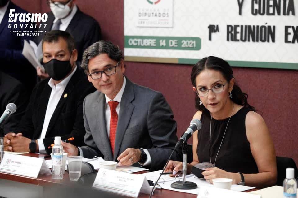 Ley de Ingresos no sufrirá cambios importantes, adelanta diputado Erasmo González Foto: @erasmoglz
