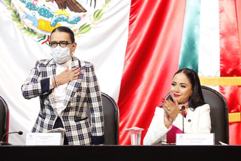 Reclaman diputados de oposición a Rosa Icela Rodríguez altos niveles de inseguridad