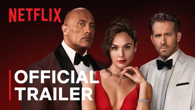 Netflix acaba de lanzar el enérgico tráiler final de 'Alerta roja', su último gran blockbuster del año con un trío protagonista de auténtico lujo formado por Dwayne Johnson, Gal Gadot y Ryan Reynolds.