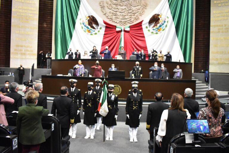 Conmemora Cámara de Diputados Bicentenario de la Secretaría de Marina Foto: @Mx_Diputados