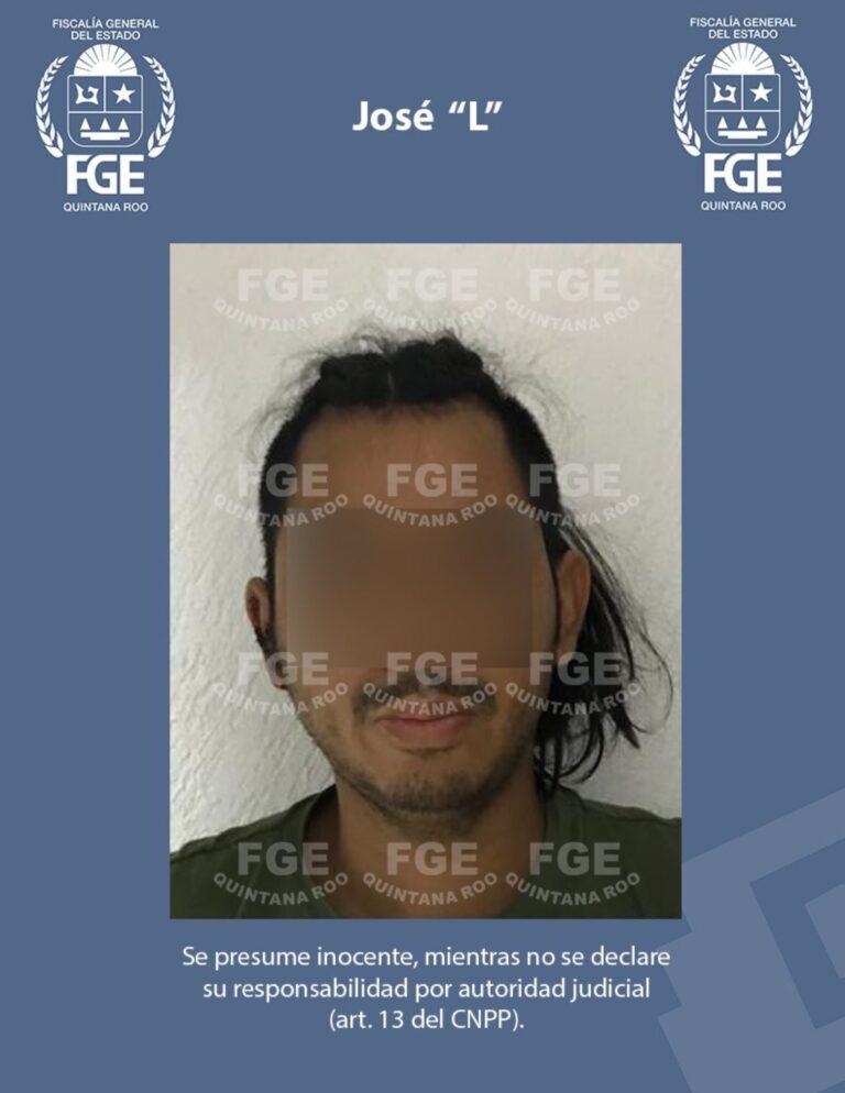 Confirman un detenido por balacera en Tulum Foto: @FGEQuintanaRoo