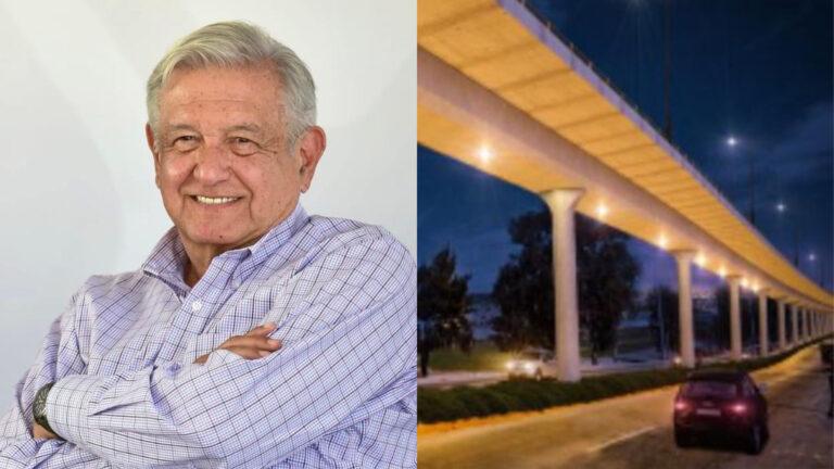 AMLO anuncia viaducto elevado en Tijuana