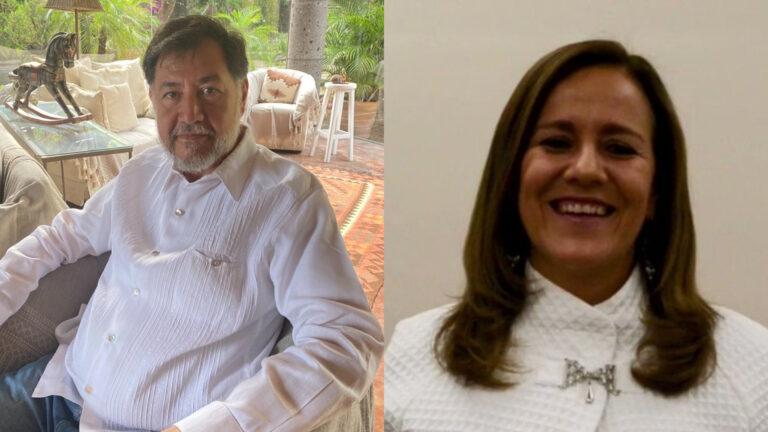 """Noroña contra MargaritaZabala. Le pide """"tener un mínimo de decencia"""""""