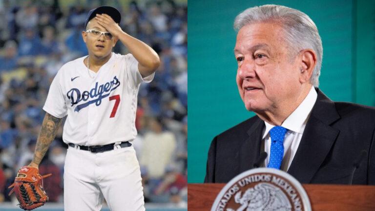 AMLO confía en triunfo de los Dodgers