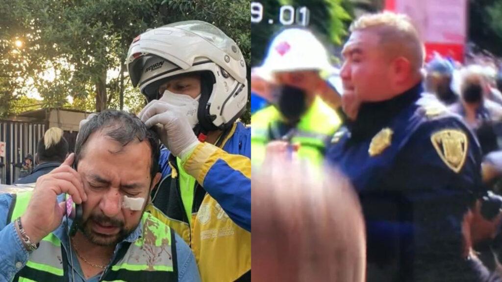 Unión Nacional de Gaseros identifican a Policía de CDMX que agredió a líder Enrique Medrano