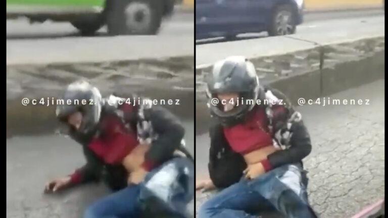 Video del presunto atacante en AICM antes de morir