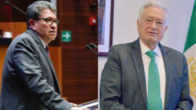 Ricardo Monreal pide a Bartlett prudencia en sus declaraciones