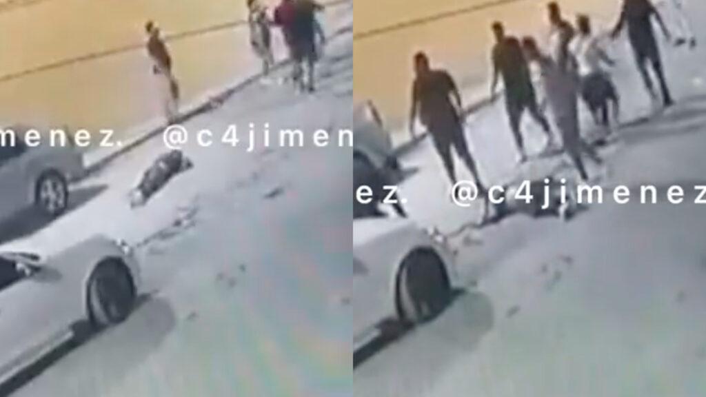 Adulto mayor macheteado hasta morir por estacionamiento en Ecatepec (Video)