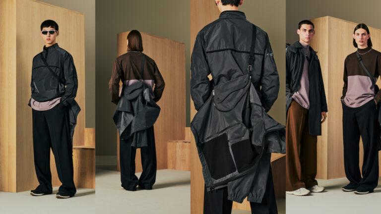 Dior presenta por primera vez las piezas empacables de la colección masculina primavera 2022