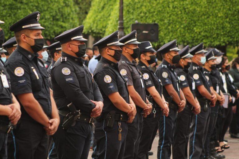 Policía de Guanajuato es la mejor pagada del país **FOTOS SESESP Guanajuato**
