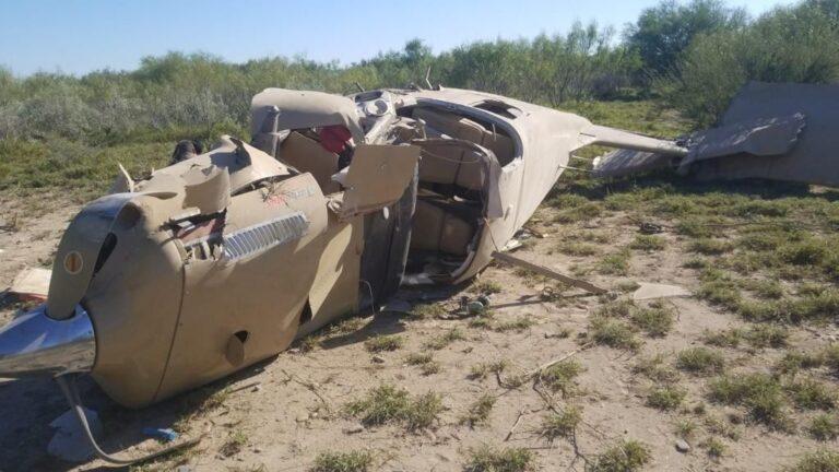 PC Nuevo León reportó la caída de una aeronave en la Sierra Ejidal Mamulique *FOTOS ESPECIALES**