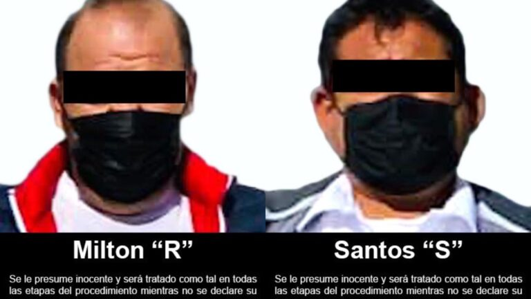 FGR aseguró narcóticos en autobús de pasajeros y detuvo a dos personas **FOTOS FGR***